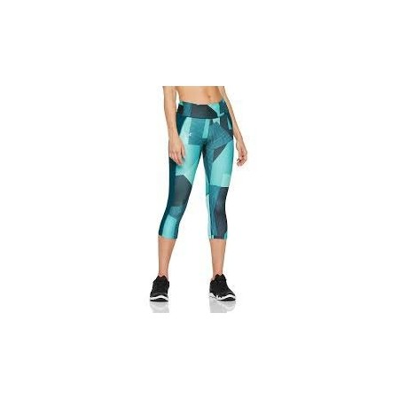 Legginsy kompresyjne 3/4 damskie - Under Armour SPEED STRIDE PRINTED CAPRI - 1