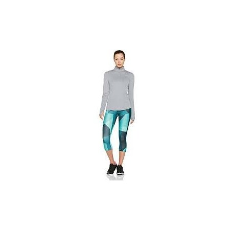 Legginsy kompresyjne 3/4 damskie - Under Armour SPEED STRIDE PRINTED CAPRI - 3