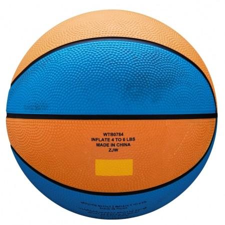 Mini basketbalový míč - Wilson MVP MINI RBR BSKT - 2