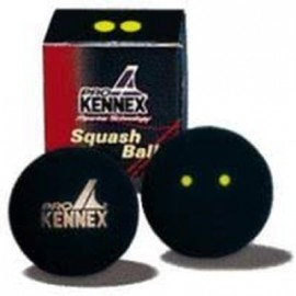 Pro Kennex SQ BALL YELLOW TWO DOTS