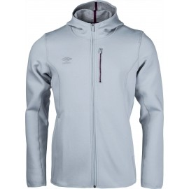 Umbro PRO FLEECE TRAINING HOODED JACKET - Pánska bunda