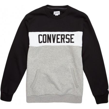 c96be7443b6 Pánská mikina - Converse COLORBLOCK CREW