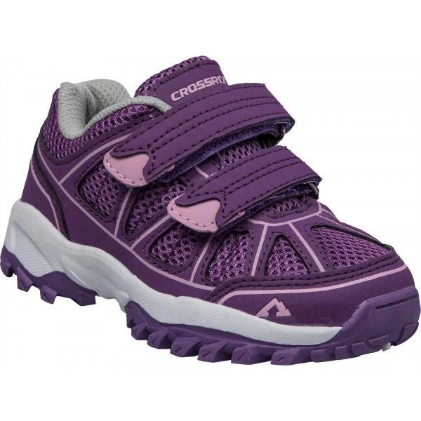 Crossroad DARIO V fialová 31 - Dětská volnočasová obuv
