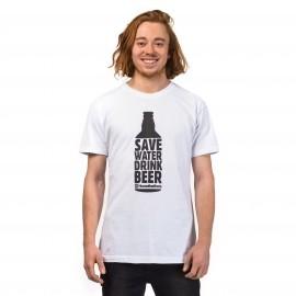 Horsefeathers SAVE WATER T-SHIRT - Pánske tričko