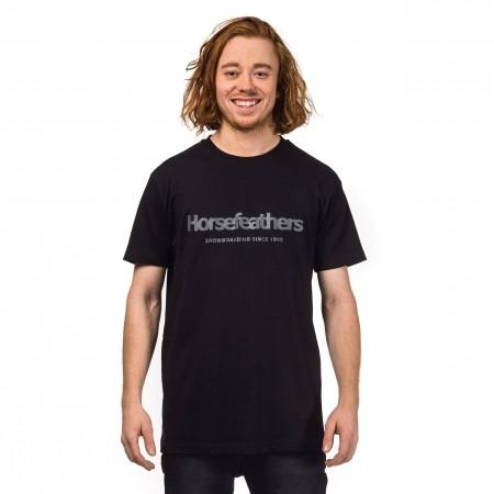 Pánske tričko - Horsefeathers QUARTER T-SHIRT - 1