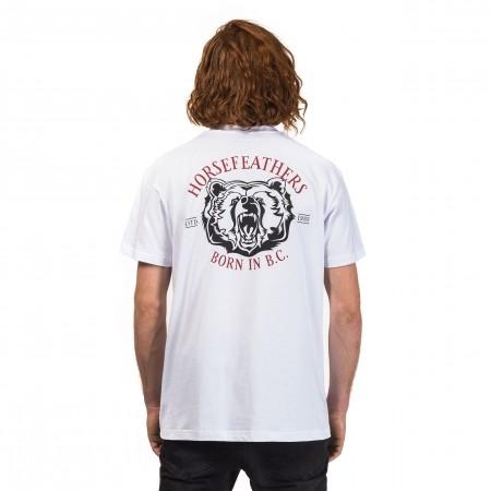 Pánské tričko - Horsefeathers BORN T-SHIRT - 2