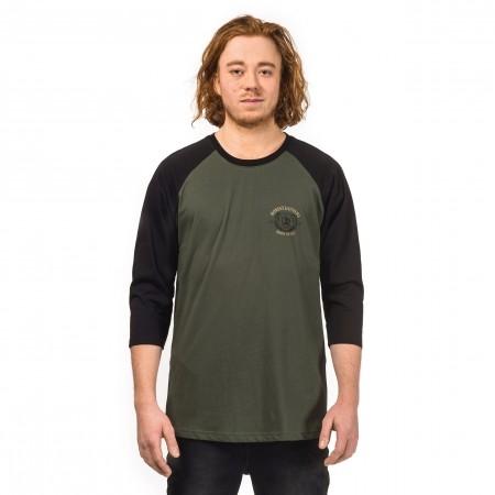 Pánske tričko s dlhým rukávom - Horsefeathers BEAR T-SHIRT - 1