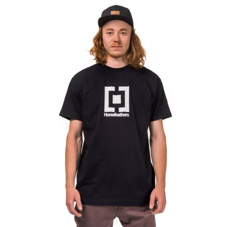 Мъжка тениска - Horsefeathers BASE T-SHIRT - 1