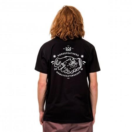 Pánske tričko - Horsefeathers HANDSHAKE T-SHIRT - 2
