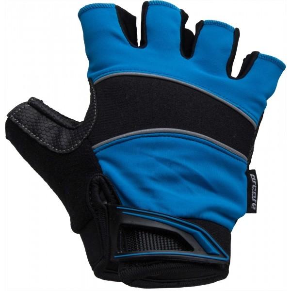 Arcore AROO tmavě modrá S - Letní cyklistické rukavice