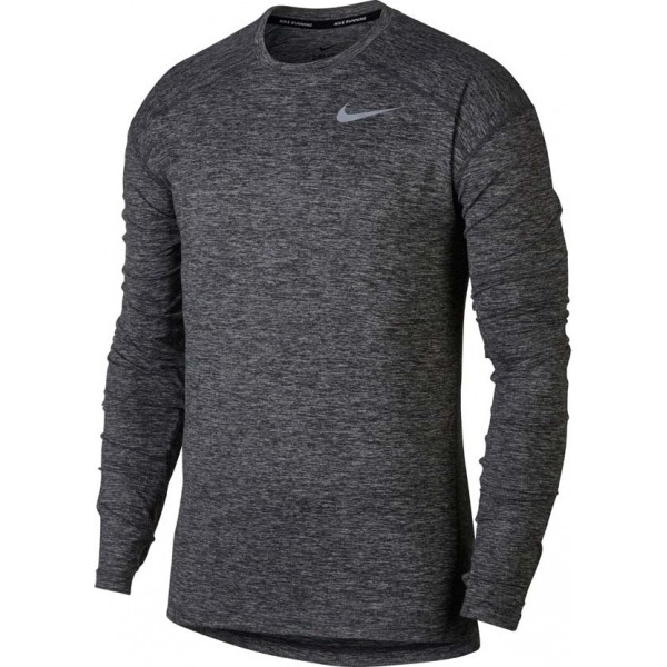 Nike DRI-FIT ELEMENT CREW czarny L - Koszulka do biegania męska