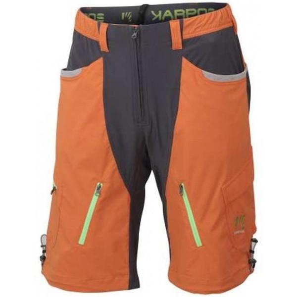 Karpos CASATSCH BAGGY SHORT oranžová M - Pánske šortky
