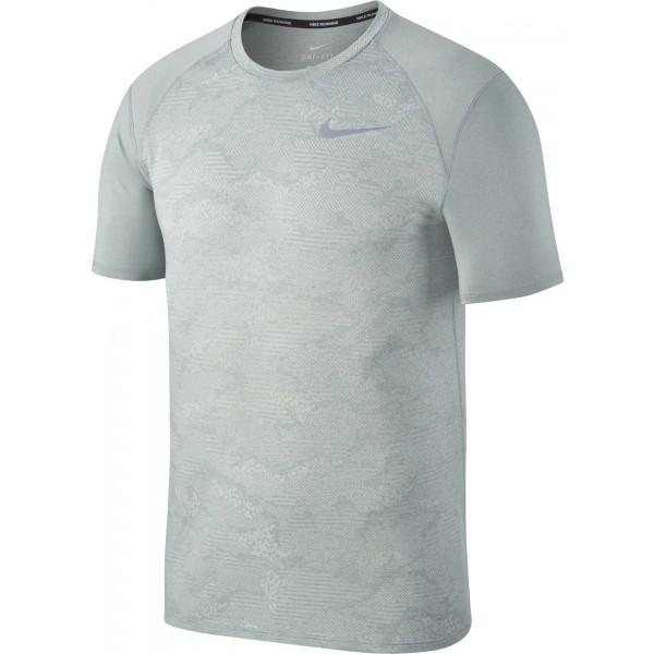 Nike BRTHE MILER TOP szary XXL - Koszulka do biegania męska