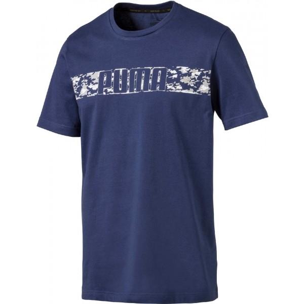 Puma ACTIVE HERO TEE niebieski S - Koszulka męska