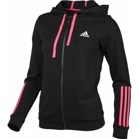 Women's sweatshirt - adidas COM MS FZ HOOD - 1