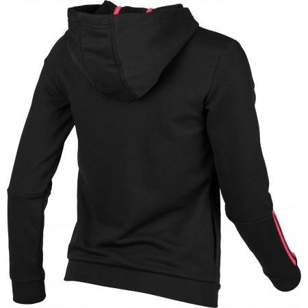 Women's sweatshirt - adidas COM MS FZ HOOD - 2