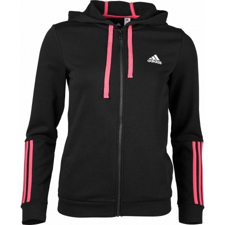 Women's sweatshirt - adidas COM MS FZ HOOD - 3