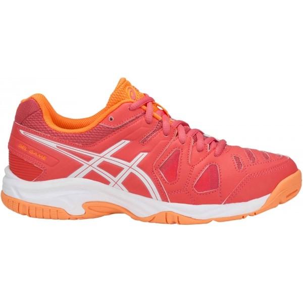 Asics GEL-GAME 5 GS červená 5 - Dětská tenisová obuv