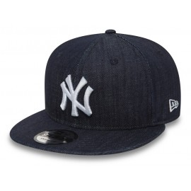 New Era 9FIFTY DENIM NEW YORK YANKEES - Czapka z daszkiem snapback męska
