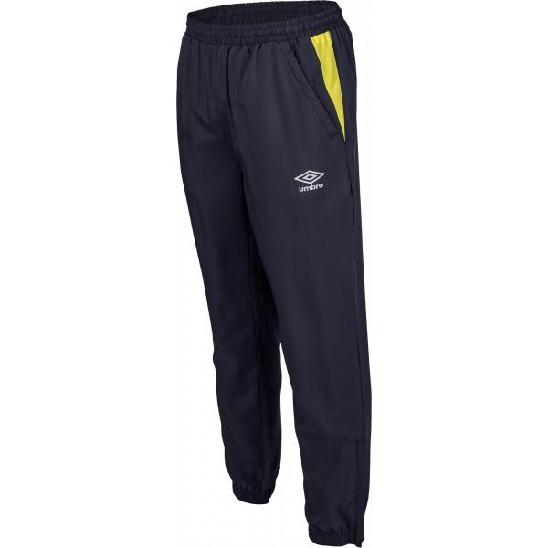 Umbro WOVEN PANT žltá XL - Pánske športové nohavice