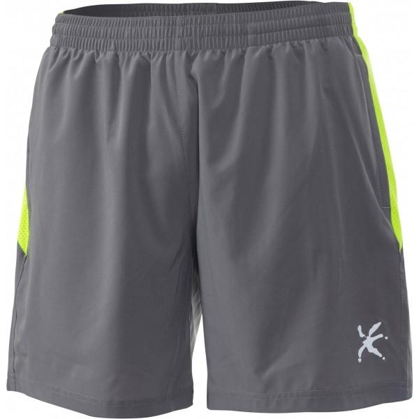 Klimatex RODIN šedá XL - Pánské běžecké šortky