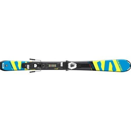 Juniorské sjezdové lyže - Salomon E X-RACE JR S + E C5 - 2