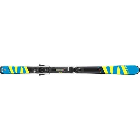 Juniorské sjezdové lyže - Salomon E X-RACE JR M + E L7 - 4