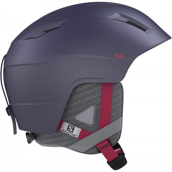 Salomon PEARL fialová (53 - 56) - Dámská lyžařská helma