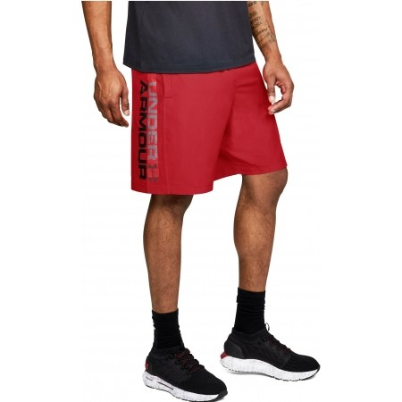 Spodenki męskie - Under Armour WOVEN GRAPHIC WORDMARK SHORT - 4