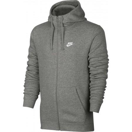 Herren Sweatshirt - Nike HOODIE FZ FLC CLUB - 3
