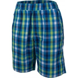 Lewro KNOX - Boys' shorts with checked pattern