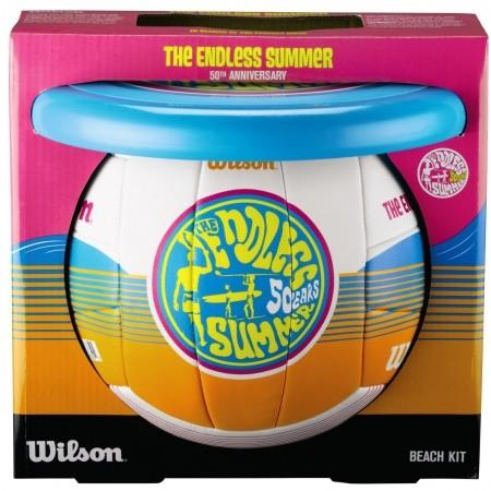 Волейболен комплект - Wilson ENDLS SUMR VBALL AIR DISC KIT - 2