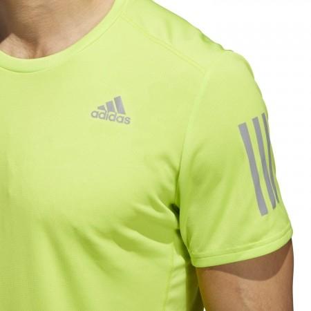 Pánské běžecké triko - adidas RESPONSE TEE M - 6
