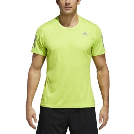 Pánské běžecké triko - adidas RESPONSE TEE M - 5