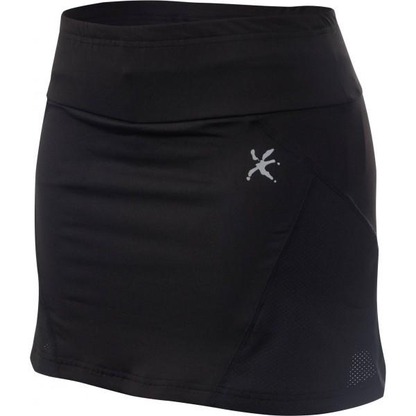 Klimatex IRINA fekete XL - Női futószoknya