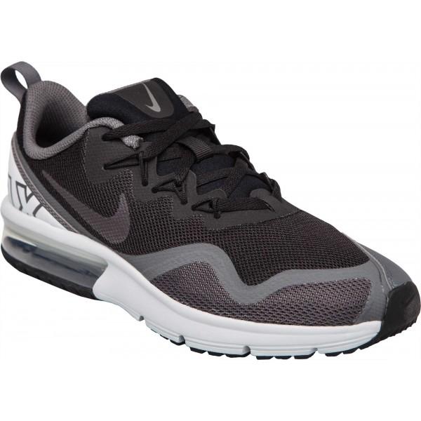 Nike AIR MAX FURY GS šedá 3.5Y - Chlapecká vycházková obuv