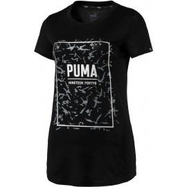 Puma FUSION GRAPHIC TEE - Koszulka damska