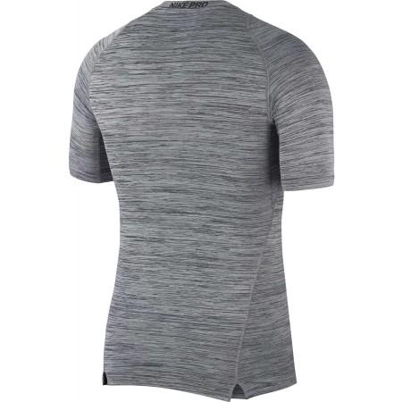 Tricou sport bărbați - Nike TOP SS COMP HTHR - 2