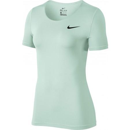 1b892588f4 Női póló edzéshez - Nike TOP SS ALL OVER MESH - 1