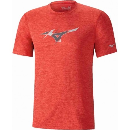 Men's running T-shirt - Mizuno IMPULSE GRAPHIC TEE