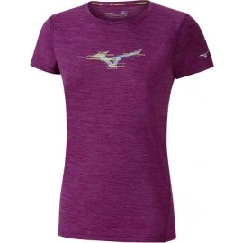 Mizuno IMPULSE GRAPHIC TEE W - Women's functional short sleeve T-shirt