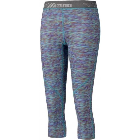 Women's elastic 3/4 length pants - Mizuno IMPULSE 3/4 PR TIGHT W