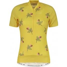 Maloja ORTENSIA M. AOP 1/2 - Koszulka rowerowa z krótkim rękawem