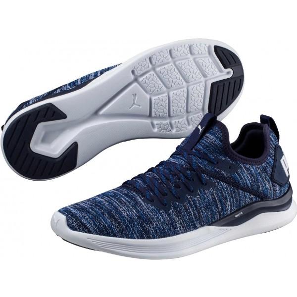Puma IGNITE FLASH EVOKNIT kék 7.5 - Férfi szabadidőcipő
