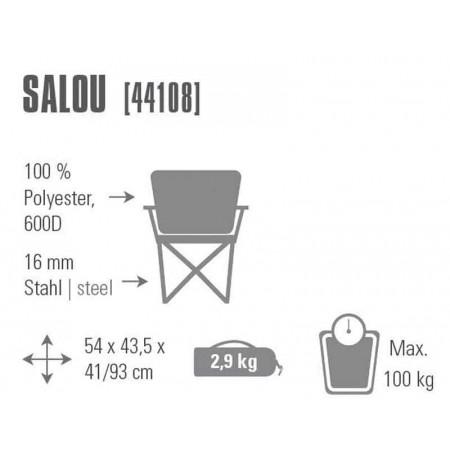 Rozkládací židle - High Peak SALOU - 2
