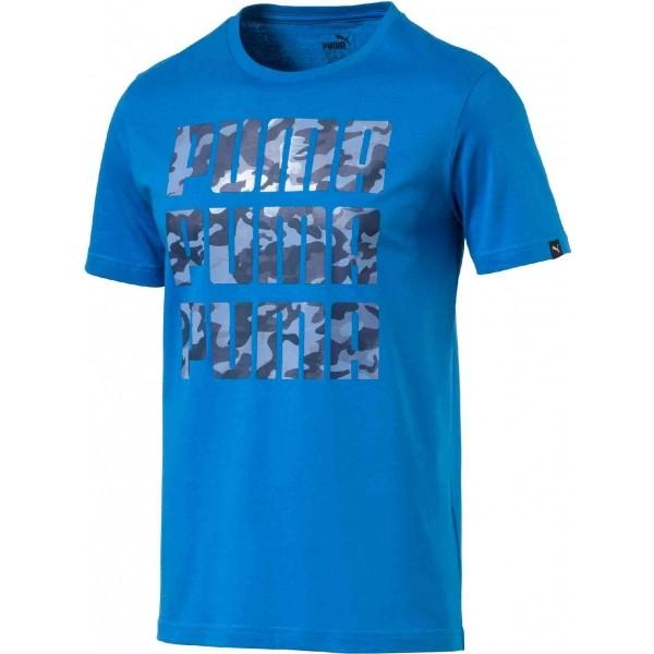 Puma 3X3 TEE niebieski L - Koszulka męska