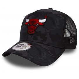 New Era 9FORTY CAMO TRUCK CHICAGO BULLS - Czapka trucker klubowa