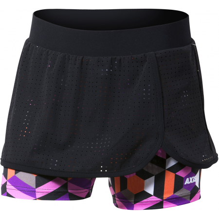 Dívčí fitness šortky se sukní 2 v 1 - Axis FITNESS SKIRT