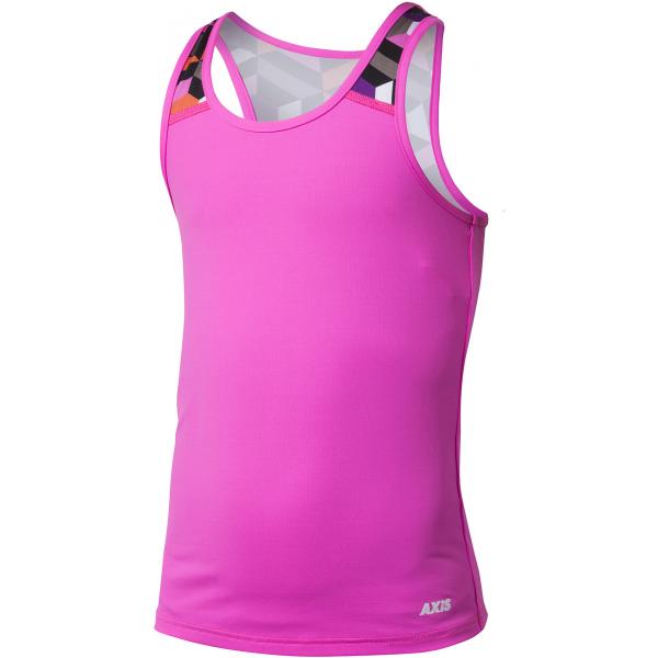 Axis FITNESS TOP ružová 164 - Dievčenské fitness tielko