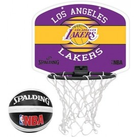Spalding NBA MINIBOARD LA LAKERS - Basketbalový kôš